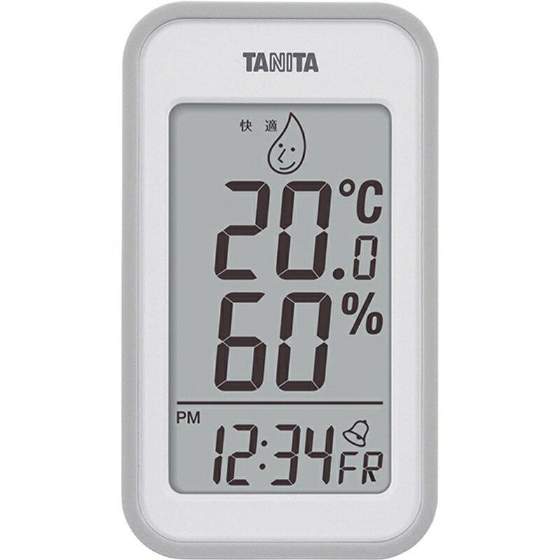 タニタ デジタル温湿度計 TT-559GY【温度計 湿度計 デジタル 室内 タニタ】