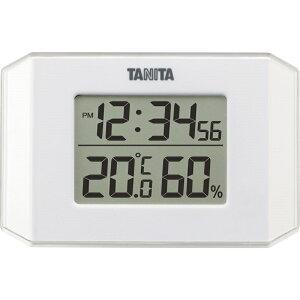 タニタ デジタル温湿度計 TT-574WH【温度計 湿度計 デジタル 健康 風邪予防 】[tr]