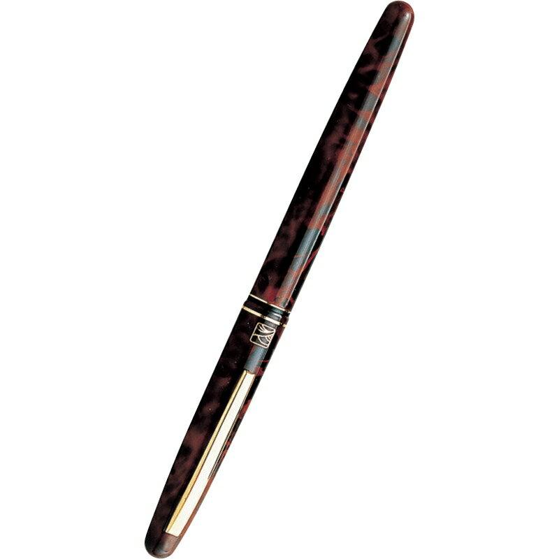くれ竹 万年毛筆(15号) 茶軸 DU143-15C【毛筆 毛筆ペン 筆 筆ペン おしゃれ 黒15号】