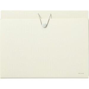 リヒトラブ ウォールドキュメントファイルA4 ホワイトA7675-0 【整理整頓 書類整理 壁収納 A4対応 A4ファイルが入る オフィス アイデアグッズ】[tr]