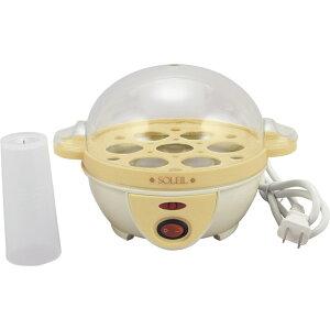 ソレイユ 電気ゆでたまご器 SL-25 【家電 電化製品 調理器具 ゆで卵 茹で卵 お弁当 おつまみ 簡単 ランチ あると便利】[tr]