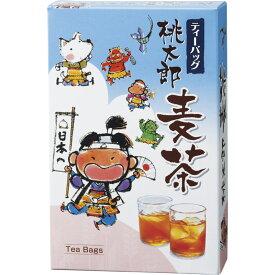 桃太郎麦茶 MV-15【販促 ばらまき ノベルティ むぎ茶 むぎちゃ おちゃ ティーバッグ ティーバック 飲み物】