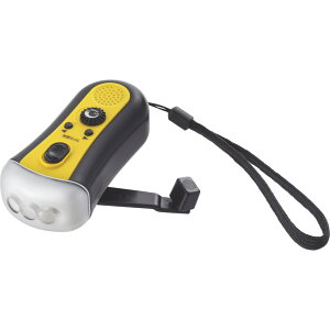 エレット ミニラジオライト ET-18【懐中電灯 小型 明るい 充電式 停電 防災 災害 手回し 多機能 持ち歩き】
