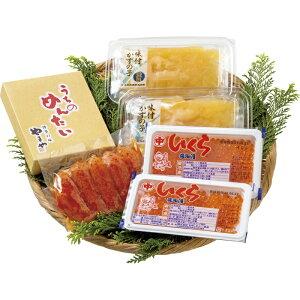 【送料無料】北海道産いくらとやまや明太子・味付け数の子詰合せ 2739-50[ty]
