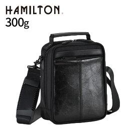 ショルダーバッグ メンズ 斜めがけ 軽量 縦型 ショルダーバック 2way HAMILTON 18cm #33671 ビジカジバッグ カジュアル 小さめ 軽量 通勤 シンプル 黒 便利 学生 かっこいい 通勤鞄[tr]