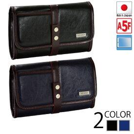 クラッチバッグ メンズ セカンドバッグ A5ファイル 27cm 日本製 国産 豊岡製鞄 フォーマルバッグ 礼服用バッグ 黒 タブレット対応 7インチ 8インチ nexus iPad ZenPad #25864[tr]