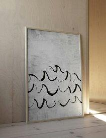 FINE LITTLE DAY   WAVE POSTER   アートプリント/アートポスター (50x70cm) 北欧 雑貨 インテリア リビング おしゃれ