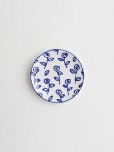 MARIANNE HALLBERG (マリアンヌ・ハルバーグ)   豆皿 (ローズ) 瀬戸焼 お皿 かわいい
