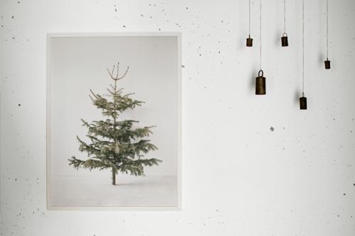 bastisRIKE | TREE POSTER | ポスター (60x80cm) 【クリスマス リビング アート】【ネコポス/定形外不可】