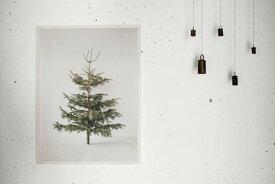 bastisRIKE | TREE POSTER | ポスター (60x80cm) 【クリスマス リビング アート】もみの木 ツリー おすすめ おしゃれ かっこいい 人気 インテリア 北欧 アート スタイリッシュ クリスマス ポスター ギフト 送料無料
