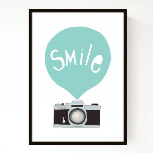 SEVENTY TREE | SMILE MINT | アートプリント/ポスター (30x40cm)