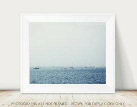【在庫残り1】JILLIAN AUDREY | SEA BLUE & HARBOR BOATS PHOTOGRAPHY | フォトグラフィ/ポスター