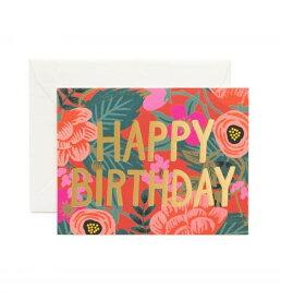 RIFLE PAPER CO. | POPPY BIRTHDAY(GCB034)| バースデー | グリーティングカード