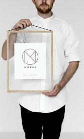 MOEBE | A3 FRAME (oak) | A3 ウッドフレーム【ムーベ 北欧 デンマーク インテリア ポスターフレーム】