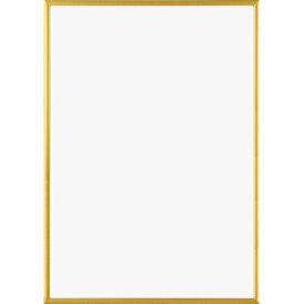【エントリーでポイント10倍】【A4】A.P.J. | フィットフレーム | アルミ額縁 | A4サイズ (gold)【ポスターフレーム】