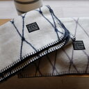 bastisRIKE | THE GRID - COTTON BABY BLANKET (grey) | ベビーブランケット【75x100cm】
