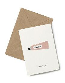 【エントリーでポイント10倍】KARTOTEK COPENHAGEN | GREETING CARD (Creme) | グリーティングカード