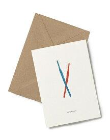 【エントリーでポイント10倍】【在庫残り1】KARTOTEK COPENHAGEN | GREETING CARD (Tooth Brushes) | グリーティングカード