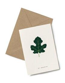 【エントリーでポイント10倍】KARTOTEK COPENHAGEN | GREETING CARD (Mission Fig) | グリーティングカード