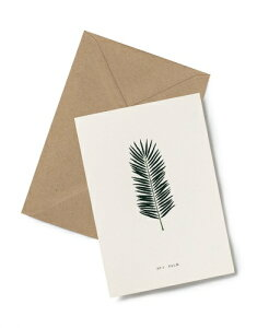 KARTOTEK COPENHAGEN   GREETING CARD (Palm)   グリーティングカード