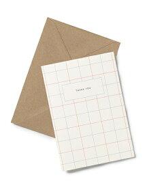 【エントリーでポイント10倍】KARTOTEK COPENHAGEN | GREETING CARD (Thank you) | グリーティングカード
