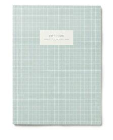 【エントリーでポイント10倍】KARTOTEK COPENHAGEN | LARGE NOTEBOOK CHECK (light blue) | ノートブック