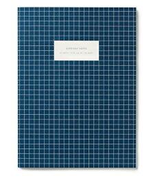 【エントリーでポイント10倍】KARTOTEK COPENHAGEN | LARGE NOTEBOOK CHECK (dark blue) | ノートブック