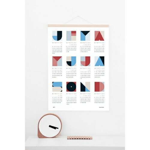 snug.studio | SNUG.GEO calendar 2018 | ポスターカレンダー2018