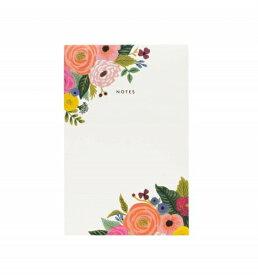 RIFLE PAPER CO. | JULIET ROSE NOTEPAD (NPM021) | ノートパッド