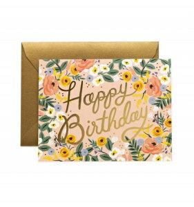 RIFLE PAPER CO. | ROSE BIRTHDAY (GCB040) | グリーティングカード