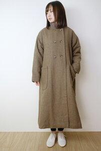 "【SALE セール】KELEN (ケレン) | A Line coat ""Figgy"" (brown) | コート【レディース ブラウン 無地 シンプル おしゃれ 秋冬】"
