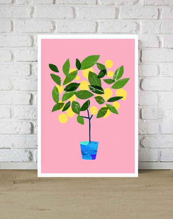 【オーダーメイド】ANEK | Meyer Lemon Tree Citrus Poster | アートプリント/ポスター (50x70cm)