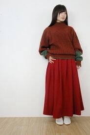 rikolekt   RED SKIRT (red)   スカート【送料無料 リコレクト レッド 赤】