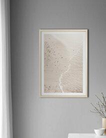 NOUROM | BEIGE SAND #3, YSTAD BEACH, SWEDEN | アートプリント/ポスター (50x70cm)【北欧 シンプル ミニマル インテリア おしゃれ】