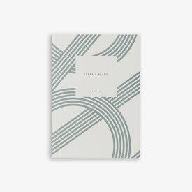 【エントリーでポイント10倍】KARTOTEK COPENHAGEN | SMALL NOTEBOOK LINES (dusty blue) | ノートブック【北欧 デンマーク シンプル】