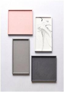FOOKYOU | Oblong Cement Tray | トレー【北欧 収納 デスクトップオーガナイザー ミニマル】