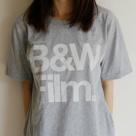 MEDIUM CONTROL | B&W FILM | Tシャツ (light grey) | メンズMサイズ