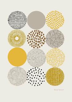 ELOISE RENOUF | CIRCLES | A3 art print / poster