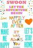 啊哈的阿什莉 · 戈德堡艺术 | 爱情感情 | 邮票一套