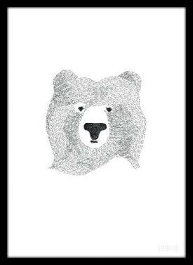 SEVENTYTREE|BEAROFFEWWORDS|A4アートプリント/ポスター