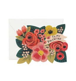 RIFLE PAPER CO. | TO MY VALENTINE(NO.GCHV07) | バレンタイン | グリーティングカード