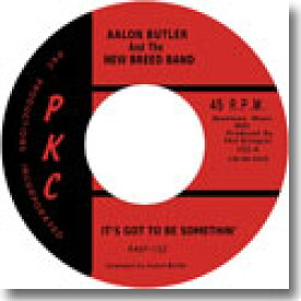 "AALON BUTLER AND THE NEW BREED BAND / IT'S GOT TO BE SOMETHIN' (7"")"