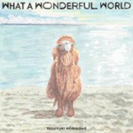 堀込泰行 / WHAT A WONDERFUL WORLD (LP)