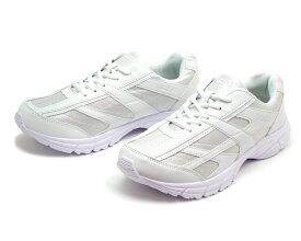 【アウトレット】メンズ 軽量 シンプル 白スニーカー 運動靴 ホワイト/ホワイト
