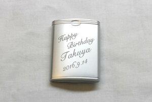 [名入れ][携帯灰皿][タバコケース][★誕生日] [★ギフト] [★プレゼント]携帯灰皿ハニカム3 タバコケース 彫刻あり