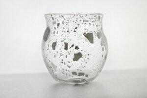 [名入れ][グラス][★高山浩子]焼酎グラス「ちぎれ雲」エッチング(彫刻)あり