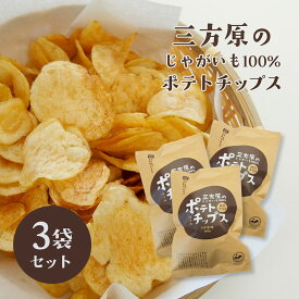 【期間・数量限定】三方原ポテトチップス うす塩味 3袋【三方原馬鈴薯100%使用】