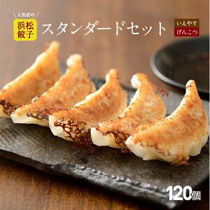 【行列店の浜松餃子】人気2種いえやす餃子とげんこつ餃子のスタンダードセット【120個】贈答用 浜松ぎょうざ