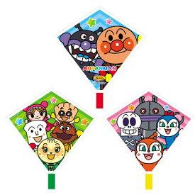 アンパンマン3れんだこ 凧 凧あげ 日本製 カイト お正月 伝承玩具