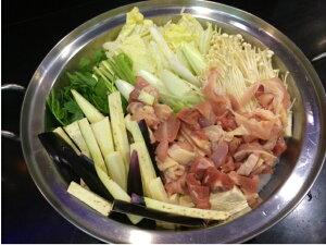 こだわりの味!板前が作る ★ 本場秋田の鍋 ★ (約2人前)「比内地鶏のしょっつる鍋セット」